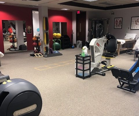 physical therapy gym frederick md